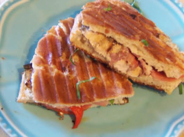 Chicken Saltimbocca Panini