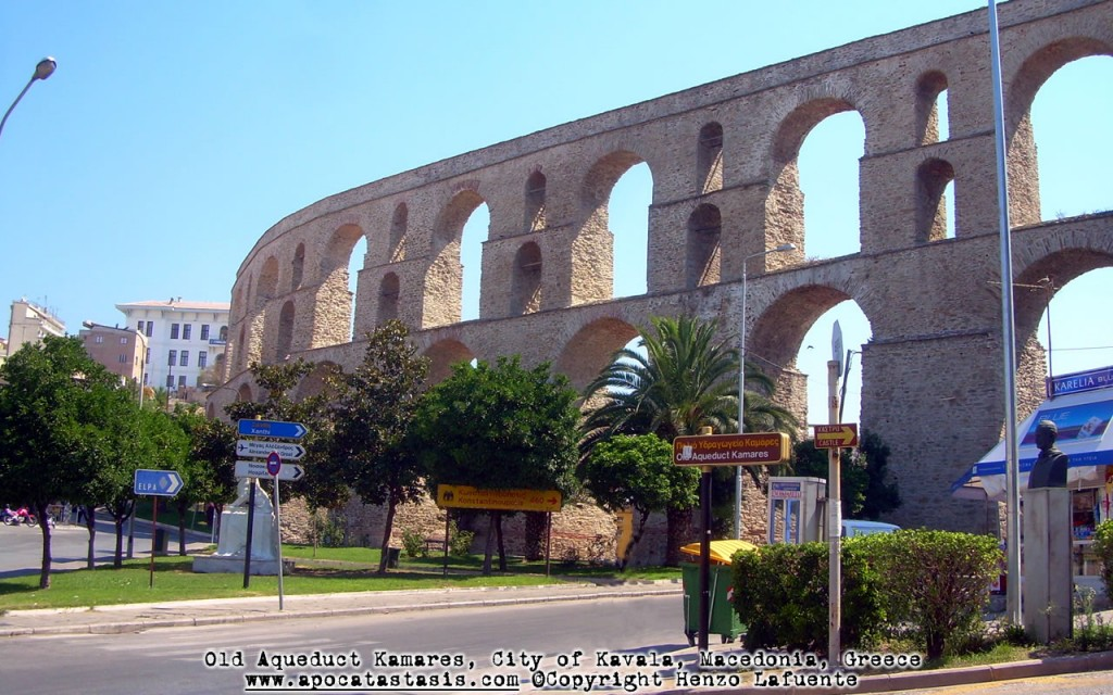 Photo: Acueducto, Kavala.