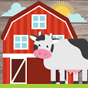 Kids Farm Game: Educational games for toddlers icon