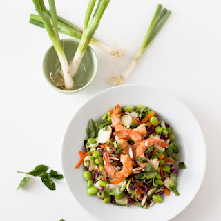 Asian Shrimp Rainbow Salad