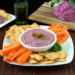 Purple Cauliflower Dip.