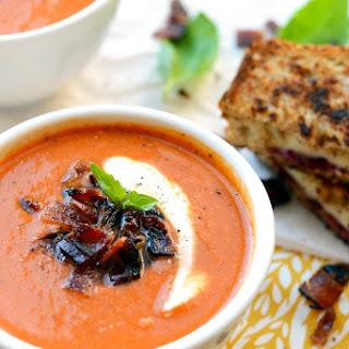 20-Minute Healthy Tomato Bisque Soup Recipe