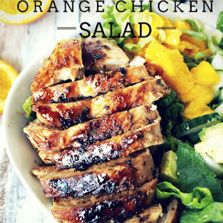 Tropical Orange Chicken Salad