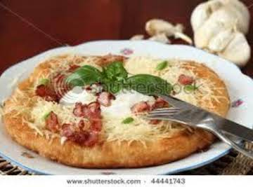 Bacon, Chive and Cheese Pancakes