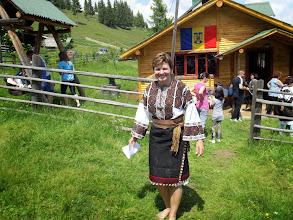 Photo: Romanian flag at the Shepherd's Hut