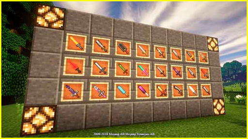 Weapon Case mod for MCPE