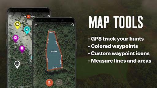 onX Hunt: Hunting Maps, Offline GPS/Nav & Weather screenshots 2