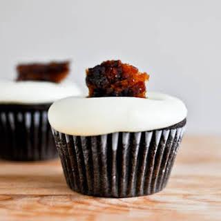Dark Chocolate Cupcakes.