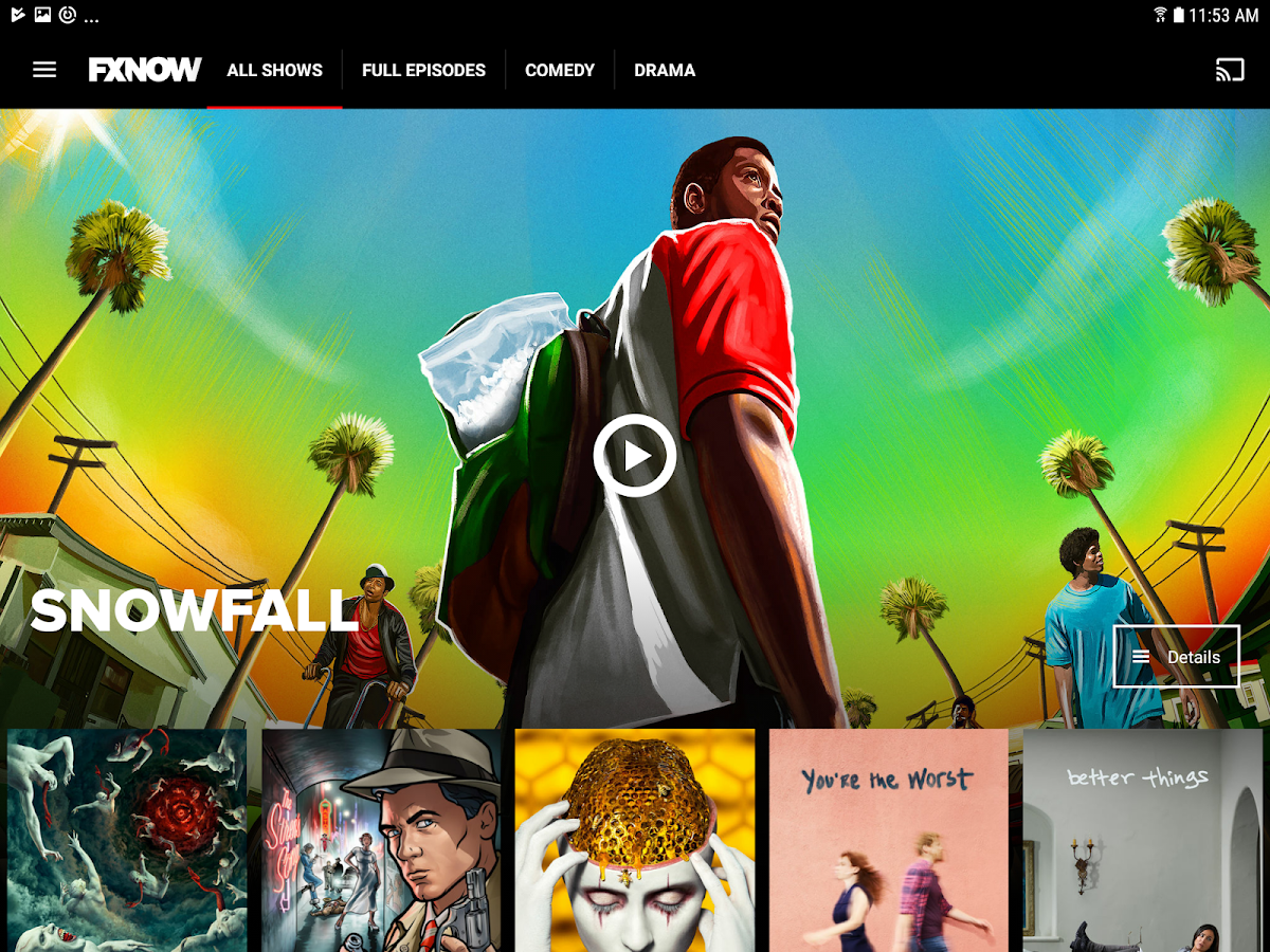 FXNOW- screenshot