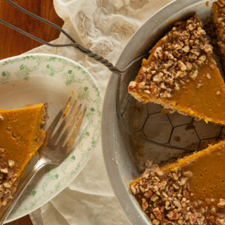Butternut Custard Pecan Pie.