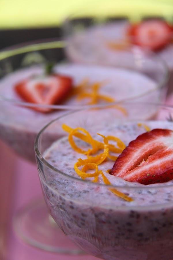 Strawberry Chia Pudding Recipe