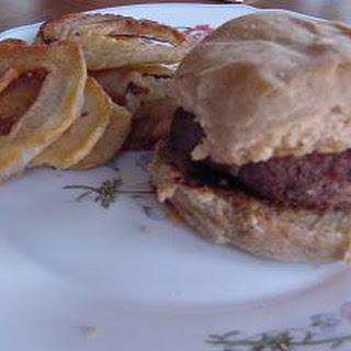 Whole Wheat Hamburger Buns.