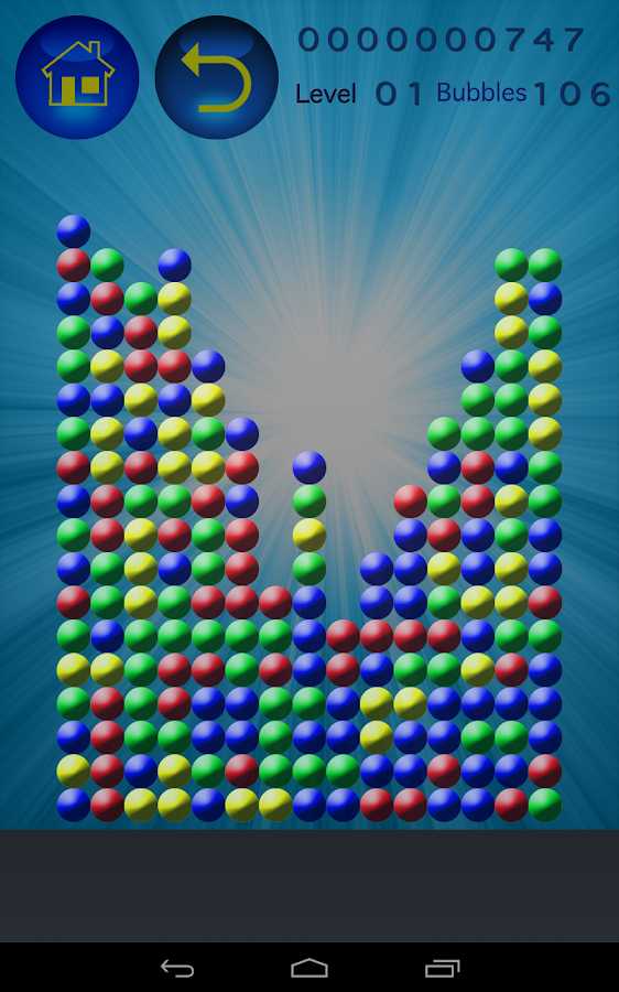 Bubbles Popper- screenshot