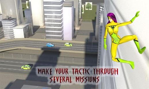 Spider Hero Girl USA: Woman Battle Hero - náhled