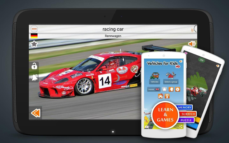 vehicles and cars screenshot