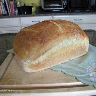 Hvedebrød aka Franskbrød – Wheat Bread.