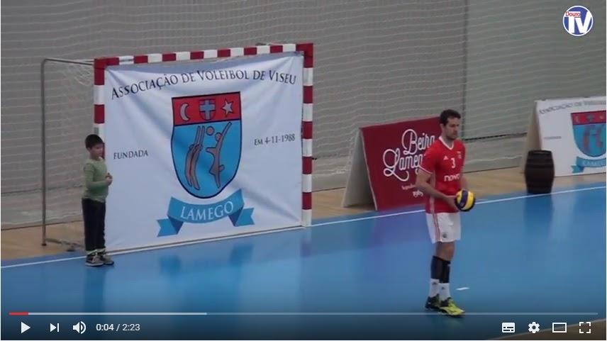 Vídeo - Voleibol: Irmã Elisete foi homenageada em Lamego