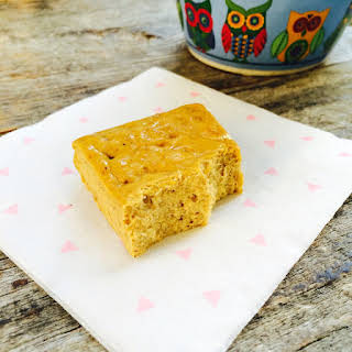 Low Carb Pumpkin Protein Bars.