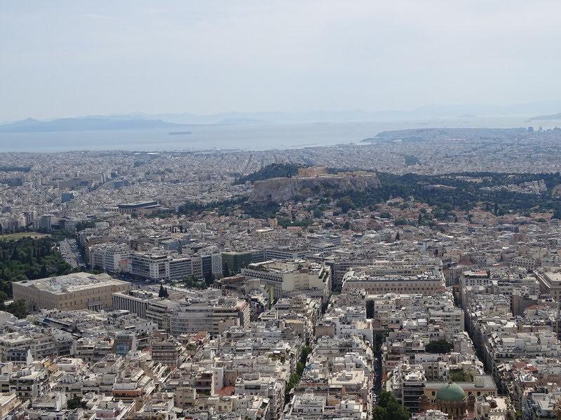 Первое знакомство в Афинами (май 2019)