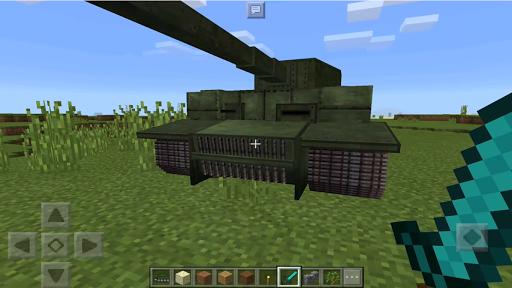 Big Tank Mod for MCPE  screenshots 3