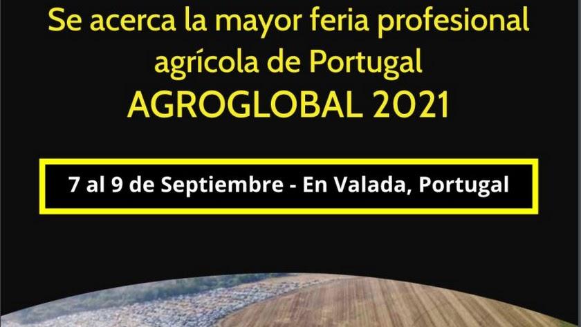 AgroGlobal se celebra en unos días en Portugal.