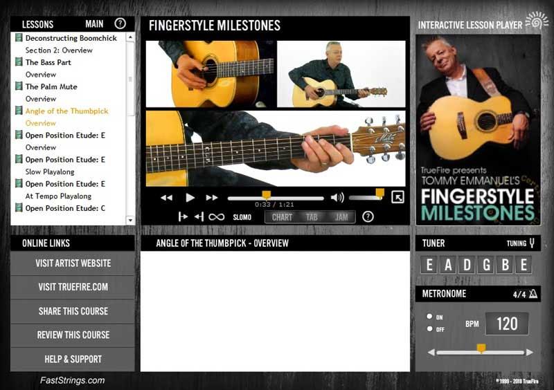 Tommy Emmanuel - Fingerstyle Milestones