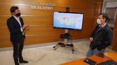 El Ayuntamiento desarrolla una aplicación Web de geolocalización de positivos de Covid-19.