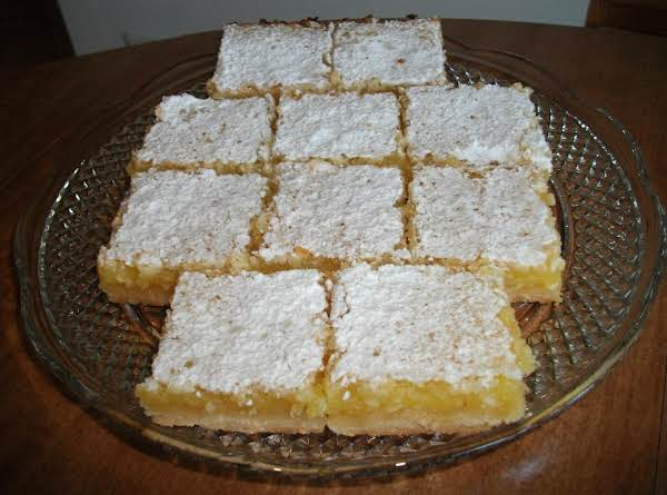 Citrus Bars Recipe