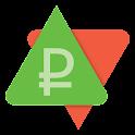 Ruble exchange rates (Widget) icon