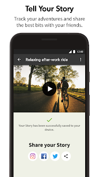 Komoot — Cycling & Hiking Maps APK screenshot thumbnail 5