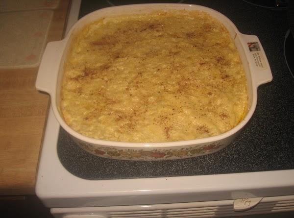 Pineapple Rice Pudding Recipe