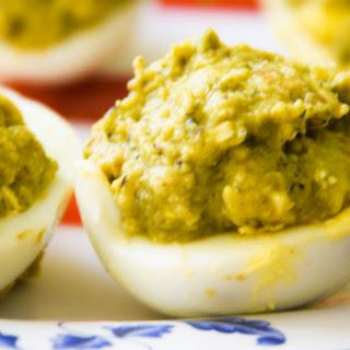 Guacamole Deviled Eggs / Best Devilled Eggs/ Classic Deviled Eggs