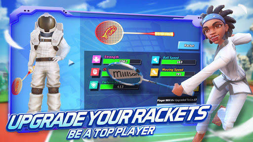 Badminton Blitz - 3D Multiplayer Sports Game apkdebit screenshots 5