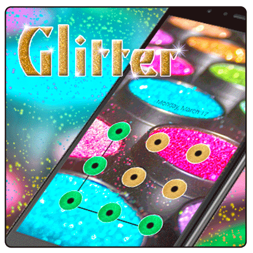 Colorful Glitter Cool AppLock