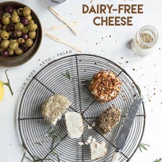 Probiotic Dairy-Free Keto Cheese.