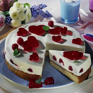 Raspberry Yogurt Cake.