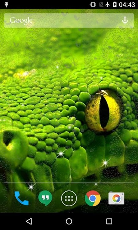 Snake Live Wallpaper Pro – (Android