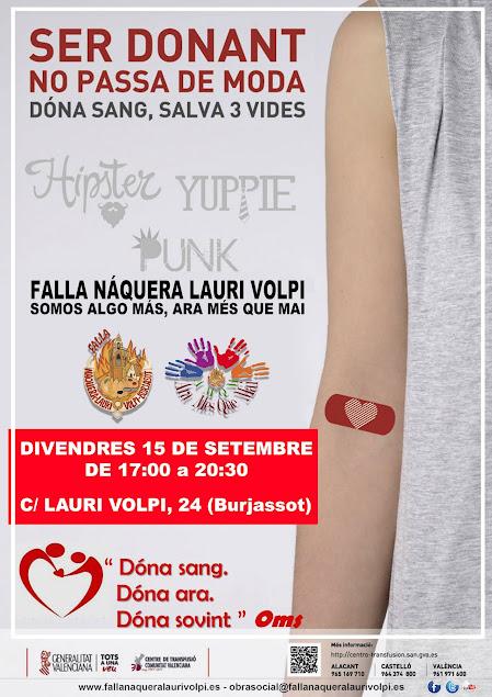 Donación de sangre en Náquera-Lauri Volpi AMQM