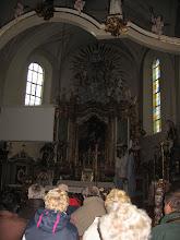Photo: Późnobarokowy ołtarz główny z XVIII wieku