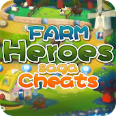 Download Full Cheats and tips for Farm Heroe  APK