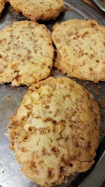 Butter Toffee Biscuit Cookies Recipe