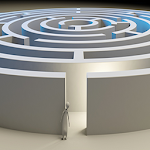 Maze And Labyrinth 3D Icon
