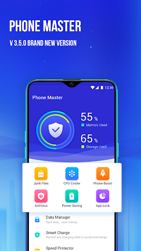 Phone Master u2013Junk cleaner master, Battery Cooler 3.5.9.0004 screenshots 1