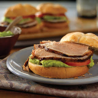 Slow-Cooked Pork Tortas.