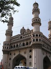 Photo: 7B130017 Hyderabad - Charminar (1591) 49 m