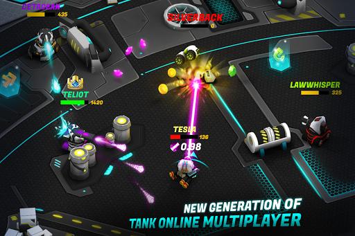 Tank Raid Online 2 - 3D Galaxy Battles  1