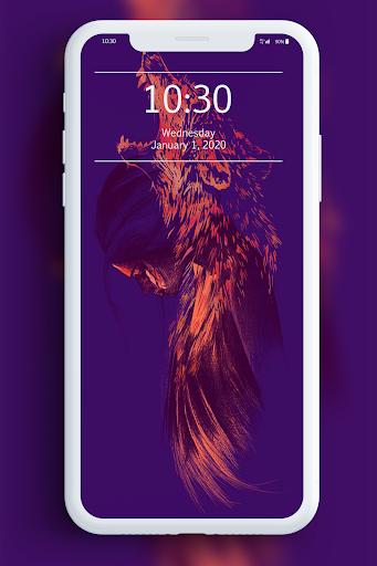 Galaxy Wild Wolf Wallpapers 1.0 screenshots 6