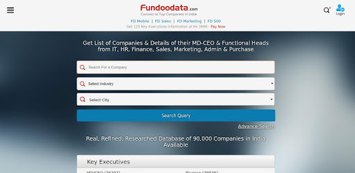 Fundoodata: Connect with Top Companies In India - Apps on