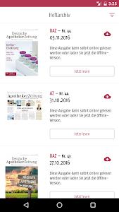 Deutsche Apotheker Zeitung screenshot 1
