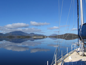Photo: Looking down the Harbour